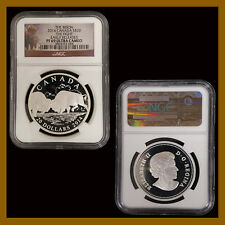 Canada 20 Dollars Silver Coin, 2014 Bison The Fight NGC PF 69 Early Releases