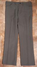 VTG Wrangler Polyester 82GY Gray Slack Pants Jeans Measure 36X31 TAG 38/32 USA
