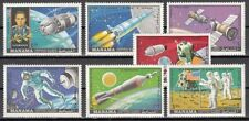 Manama, Mi cat. 244-250 A. Apollo & Soyuz Space Missions.
