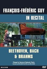 NEW Francois-Frederic Guy in Recital: Beethoven, Bach & Brahms (DVD)
