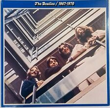 The Beatles 1967-1970 BLUE 2LPs on Blue Vinyl Complete 1978 Original SEBX 11843