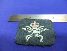 vtg badge raf physical training instructor pti embroidered patch queens crown