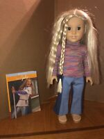 American Girl Classic Julie Doll w/Meet Outfit And Book EUC Retired