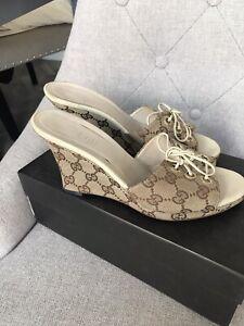 Gucci Summer Mule Size 4