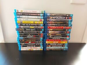 Mixed Blu Ray DVDs different genres will be adding daily hours of fun