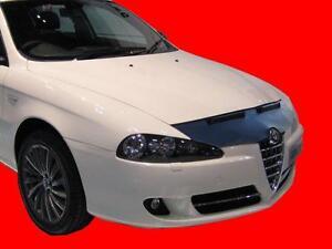 CAR HOOD BONNET BRA fit ALFA ROMEO 147 2004-2010  NOSE FRONT END MASK TUNING