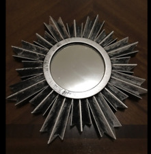 Multi Listing: Antique Home Decor Pewter Look Sunburst Wall Vintage Mirrors