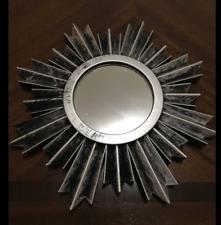 Multi Listing::: Antique Home Decor Pewter Look Sunburst Wall Vintage Mirrors