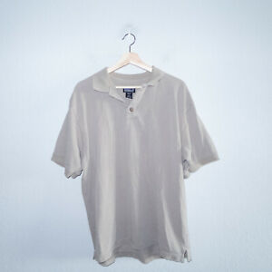 Patagonia Men's Taupe Polo Collared Shirt Size Large