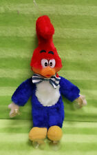 Vintage Caltoy Hanging Woody Woodpecker Plush Toy w/ Suction Cups Plastic Face