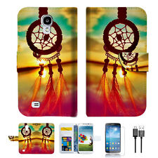 Dream Catcher Wallet TPU Case Cover For Samsung Galaxy S4 -- A008