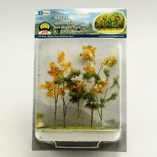 """JTT Scenery Products Woods Edge Trees Fall Mixed, O-Scale 4""""-5.5"""", 5/pk 95624"""