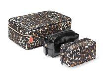 Victoria's Secret Runway Jetsetter Exotic Leopard Kiss Charm  Travel Case  NWT