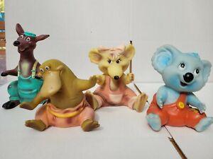1990 Pizza Hut Blinky Bill Hand Puppets