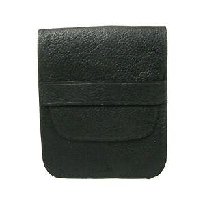 Homme S Noir Moulant Mince Portefeuille Cuir Porte Carte De Cr_dit 0134