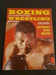 💥1️⃣9️⃣6️⃣2️⃣ Boxing Illustrated Wrestling News Magazine September Patterson