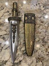 New listing Rostfrei Dagger Spqr Knife And Cover