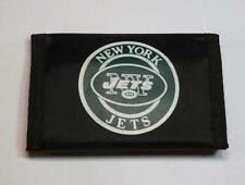 New York Jets Trifold Nylon Wallet