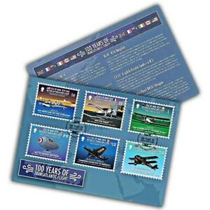 Isle of Man 2019 100 Years of Transatlantic Flight First Day Cover