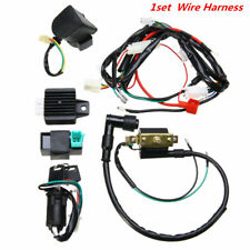 Wiring Harness Loom Solenoid Coil Rectifier CDI 50cc-125cc PIT Quad Dirt Bike