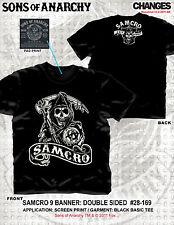 Sons Of Anarchy Soa Samcro 9 Letrero Est 1967 Rollo Motero Rock Camiseta S-3XL