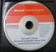 Microsoft Internet Security & Acceleration Server 2004 Standard Edition SP1