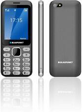 Blaupunkt FL02 Dark Gray Mobiltelefon Handy dunkelgrau Kamera Dual Mini SIM Blue