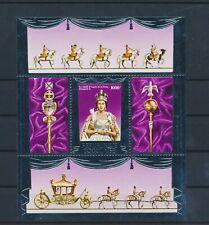 LO43889 Togo silver foil queen Elizabeth II royalty good sheet MNH