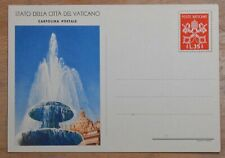 MayfairStamps Vatican Vatican City Fountain Monument Mint Stationery Card wwr265