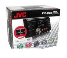 JVC KW-XS68 CD/MP3 Empfänger Vorne Aux Eingang Wireless Fernbedienung