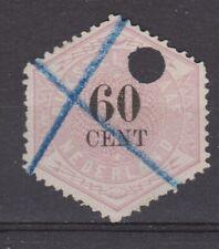 TG10 Telegram 10 used NVPH Nederland Netherlands Pays Bas 1877