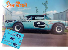 CD_1362 #2 Dave Marcis  1957 Chevy   1:32 scale decals