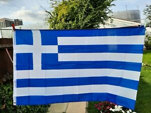 Greece 5ft x 3ft Flag Greek National Flag Europe European