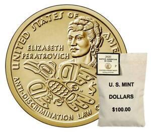 2020 $1 BU Native American Sacagawea Dollar (Philadelphia)