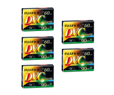 Pack of 5 Fuji 60min MiniDV Digital Video Cassette Mini DV Camcorder Tapes