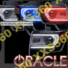 ORACLE Headlight DRL Upgrade HALO RING KIT for Ford F150/Raptor 09-14 RED LED