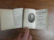 LESAGE / HISTOIRE DE GIL BLAS DE SANTILLANE Lebigre 1833 2 volumes RARE in-16