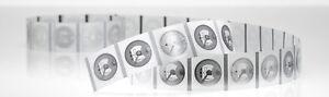 20 NFC Sticker Circus   22 mm   NXP NTAG213   180 Byte   transparent