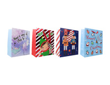 3 Christmas Traditional Luxury XL Gift Bag Party Cute Traditional Gift Bag Xmas