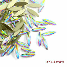 Crystal Colorful Jelly Rhinestones 3D Nail Art Decor Glitter Gem Stones Manicure