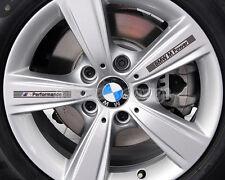 4x BMW M Power MPower Performance Sticker Badge Wheel Rim E30 E36 E46 E90 E92 X3