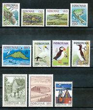 Faeröer jaargang 1978 postfris