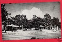 LEESBURG FL FLORIDA  INDIAN HILL COURT  MOTEL  PEYERL 1953  POSTCARD