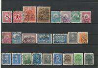 Wertvolles Lot Briefmarken Ungarn Magyar Posta 24 Werte ab 1900