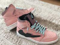 travis scott Custom Painted Nike Air jordan 1 size 10 Cactus Jack SB Lebron Kd