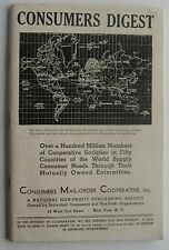 Catalog For Consumer Digest Consumers Mail Order Cooperative Inc 1937