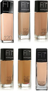 Maybelline New York Fit Me Foundation NEW Choose Your Shade 1oz Bottle