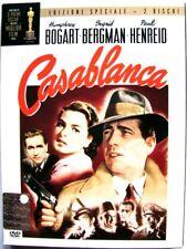 Dvd Casablanca - Edizione Speciale Digipack 2 dischi 1942 Usato