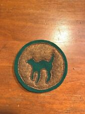 WWI US Army 81st Division,Sanitary train patch AEF