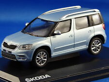 1/43 SKODA  SUV Yeti Face Lift, Silver Brilliant Metallic